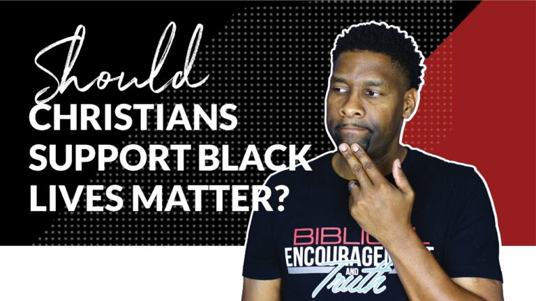 Allen Parr: Should Christians Support Black Lives Matter?